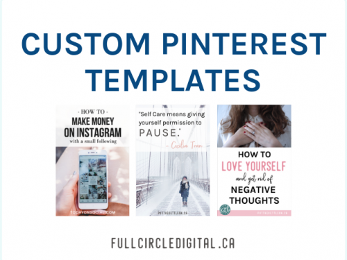Custom Pinterest Templates