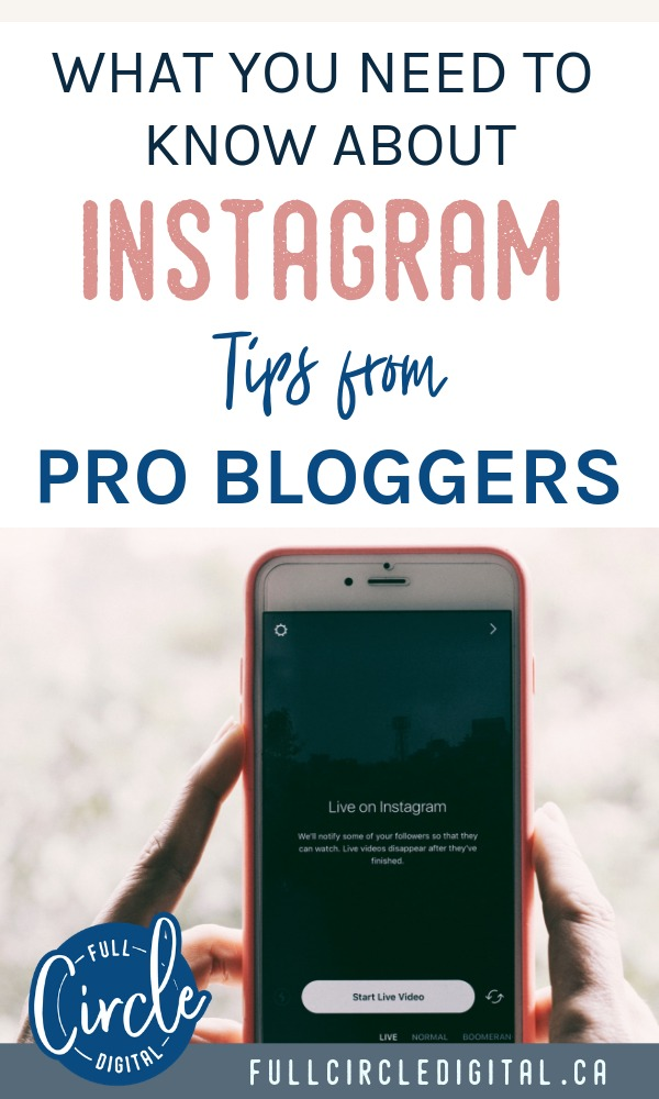 What you need to know about Instagram. Tips and advice from pro bloggers on how to engage with your audience and grow your audience.