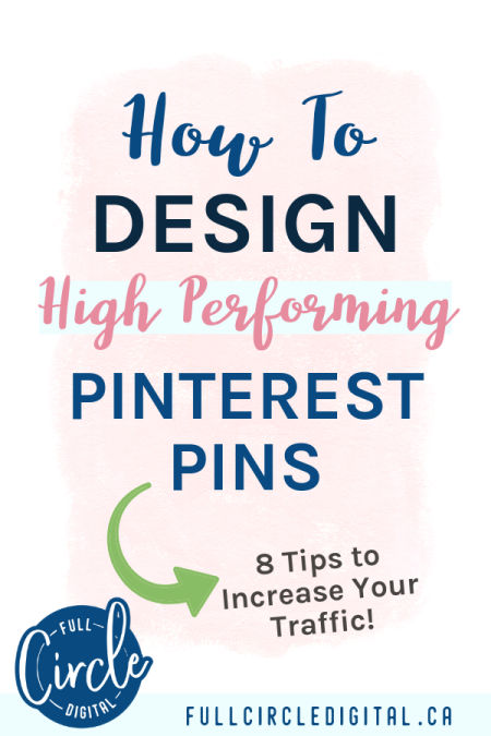 How to design high performing Pinterest Pins
