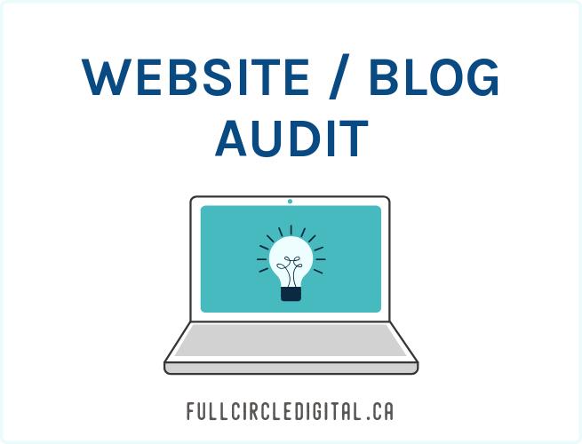 Website and blog audit