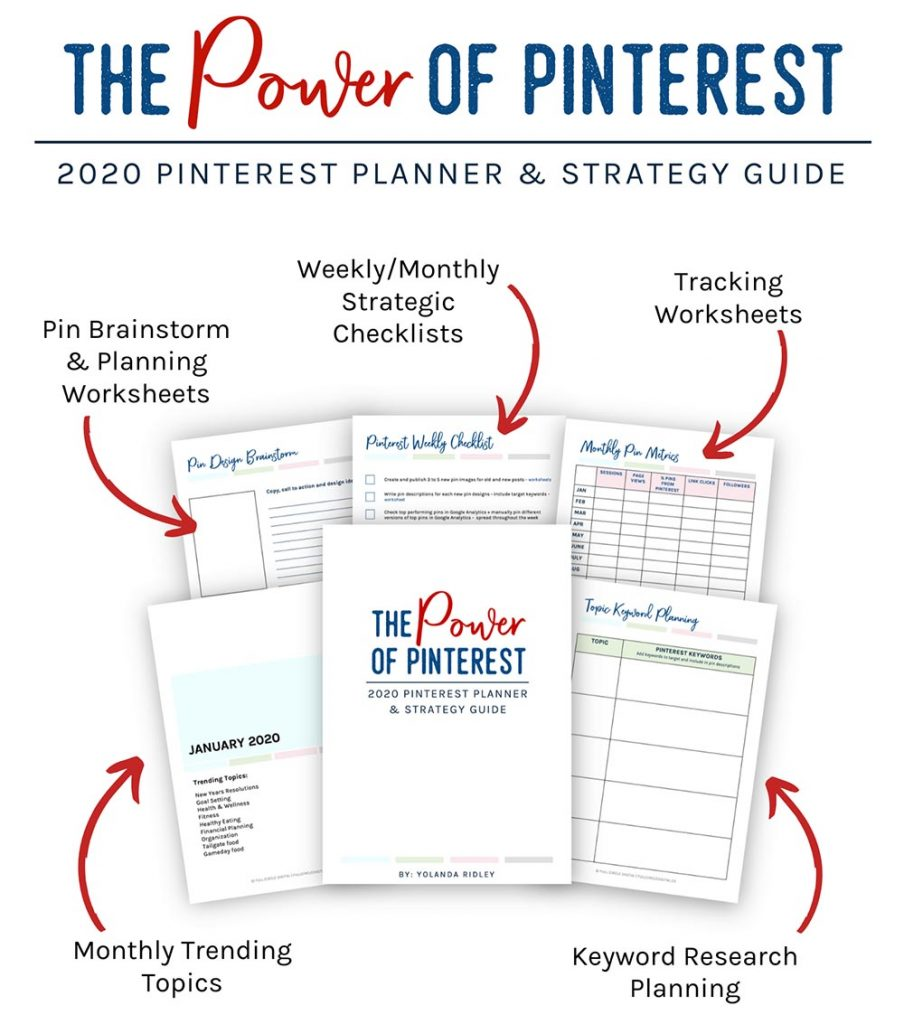The Power of Pinterest 2020 Pinterest Planner & Strategy Guide