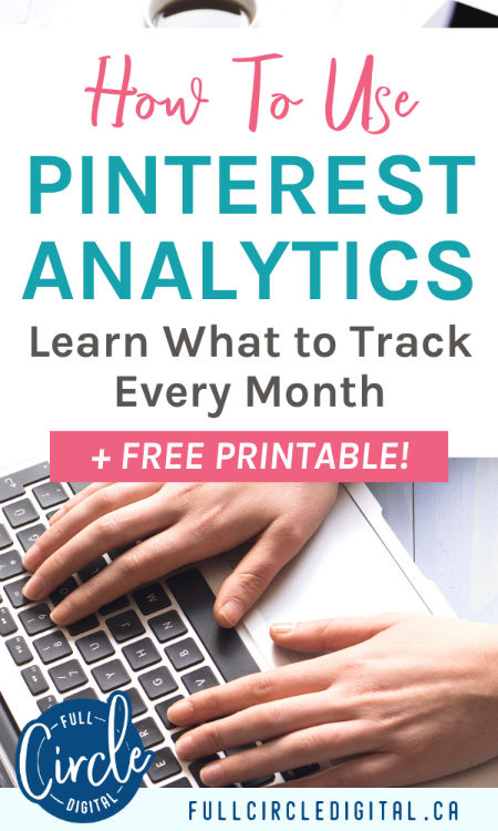 How To Use Pinterest Analytics. Learn what to track every month, plus free printable worksheets