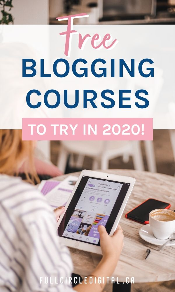 Free blogging courses To try in 2020!