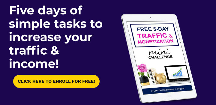 Free 5 day traffic and monetization mini challenge