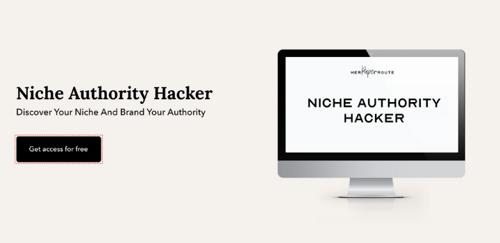 Niche Authority Hacker Free Blogging Course