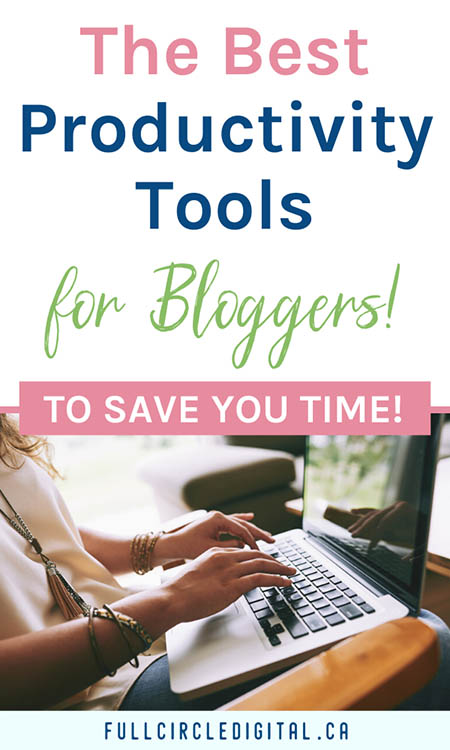 The beset productivity tools for bloggers to save you time!