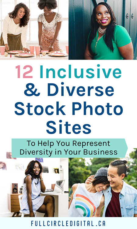 12 Inclusive and Diverse Stock Photo Sites