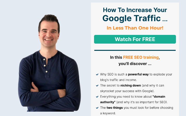 Free SEO course for bloggers from Mike Pearson